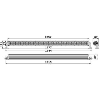 LED BAR COURBEE